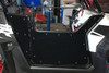 Polaris RZR RZR-S RZR-XP Low Boy Half Style Opening Suicide Removable Doors - black
