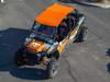 Polaris RZR 4 Orange Aluminum Roof by UTV Inc