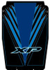Polaris RZR 4 XP 1000 Graphics for Hard Top Roof Voodoo Blue by Trail Armor