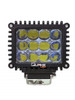 Polaris RZR 4 Inch 60w 4d Spot Rgb Accent Work Light by Quake LED
