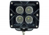 Polaris RZR 3 Inch Work Light 20 Watt Flood/Spoot Seismic Series by Quake LED