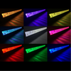 Polaris RZR 23 Inch LED RGB Light Bar Dual Row 120 Watt Combo Ultra Accent Series Quad-Lock/Interlock by Quake LED