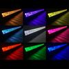 Polaris RZR 42 Inch LED RGB Light Bar Dual Row 240 Watt Combo Ultra Accent Series Quad-Lock/Interlock by Quake LED