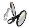 Polaris RZR 5.0″ Round Flat Glass Billet Arm Side Mirror by Axia Alloys