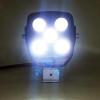 Polaris RZR 4.5 Inch Work Light 50 Watt Spot Rgb Accent Megaton Series Quad-Lock/Interlock