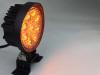 Polaris RZR 4 Inch Work Light 27 Watt Amber Spot Fracture Series