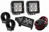 "Polaris RZR 5-Watt Dominator Cube Utv Kit With 1.75"" Clamps By Lazer Star Lights"