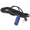 Polaris RZR 2-Pin to Off-Road Coil Cord for Handheld Radios by Rugged Radios