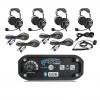 Polaris RZR 2-Place Intercom with OTU Headsets by Rugged Radios