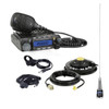 Polaris RZR 2-Place Intercom with 60 Watt Radio and Alpha Audio Helmet Kits
