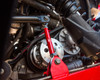 Polaris RZR 1000/XP Turbo Red Adjustable Rear Sway Bar Links by Agency Power