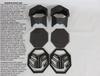 "Polaris RZR 1000s 2"" Snorkel Kit by SYA Warrior Riser"