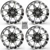 "Polaris RZR 14"" Hd6 Atv Wheels/Rims by STI"