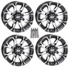 "Polaris RZR 14"" Hd3 Atv Wheels/Rims Machined by STI"