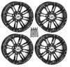 "Polaris RZR 14"" Black Hd3 Atv Wheels/Rims by STI"
