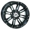 "Polaris RZR 14"" Black Hd3 Atv Wheels/Rims"