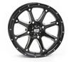 "Polaris RZR 15"" Hd4 Atv Black Wheels/Rims"