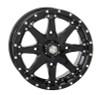 "Polaris RZR 14"" Black Hd10 Atv Wheels/Rims"