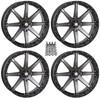 """Polaris RZR 20"""" Smoke Hd10 Atv Wheels/Rims by STI"""