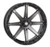"Polaris RZR 20"" Smoke Hd10 Atv Wheels/Rims"