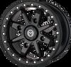 Polaris RZR 544 X Bead Lock 14X7 4/156 Wheel Black by Moose 0230-1093