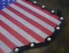 Polaris RZR 1000 XP Turbo Black Steel Grille with U.S. Flag Mesh