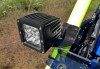 "Polaris RZR 1,75"" & 2"" Cage Light Mounting Brackets by SuperATV"