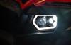 Polaris RZR 570 / 800 Black LED with Halo Headlights & Harness by Quad Logic