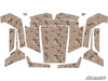 Polaris RZR 570 / 800 / XP 900 Camo Desert Graphic Kit by SuperATV