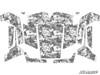 Polaris RZR 570 / 800 / XP 900 Camo Urban Graphic Kit by SuperATV