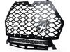 "Polaris RZR 1000 XP Turbo Black Steel Mesh Grille with 14"" LED Lightbar"