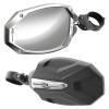 "Polaris RZR 1.75"" ROPS Photon Sideview Mirror With Cast Aluminum Body & Bezel by Seizmik"