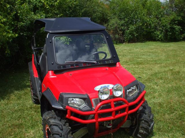 Polaris RZR Laminated Safety Glass Windshield with Wiper by EMP