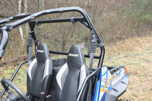 Polaris RZR Hard Coated Cab Back / Dust Stopper by EMP