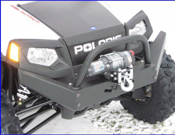 Polaris RZR Extreme Front Bumper / Brush Guard with Winch Mount by EMP