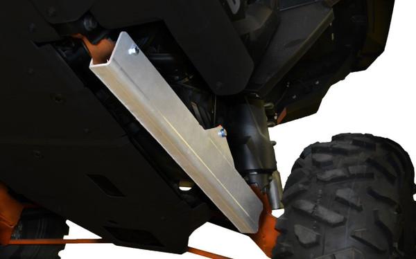 Polaris RZR 1000 / XP Turbo 10-Piece Complete Skid Plate Set (Aluminum) by Ricochet