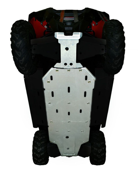 Polaris RZR 570 3-Piece Full Frame Skid Plate Set by Ricochet