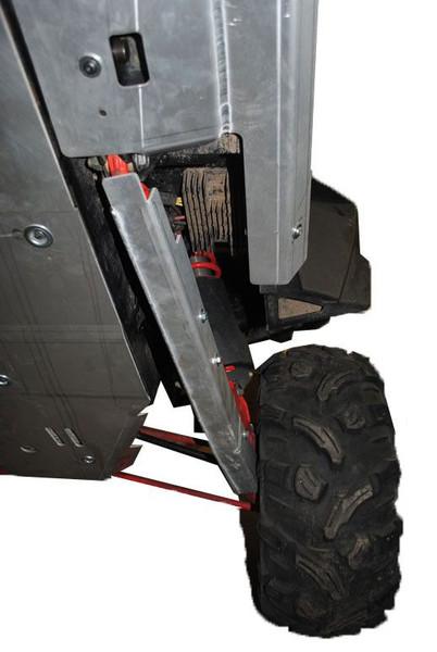 Polaris RZR 4 XP 900 11-Piece Complete Skid Plate Set (Aluminum) by Ricochet 7557F
