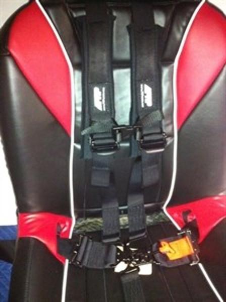 Polaris RZR 5-Point 3″ Lap Belt with 2″ Shoulder Belt Safety Harness by PRP UTV Products