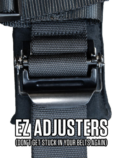 """Polaris RZR 5-Point 3"""" Ratcheting Harness by PRP UTV Products"""