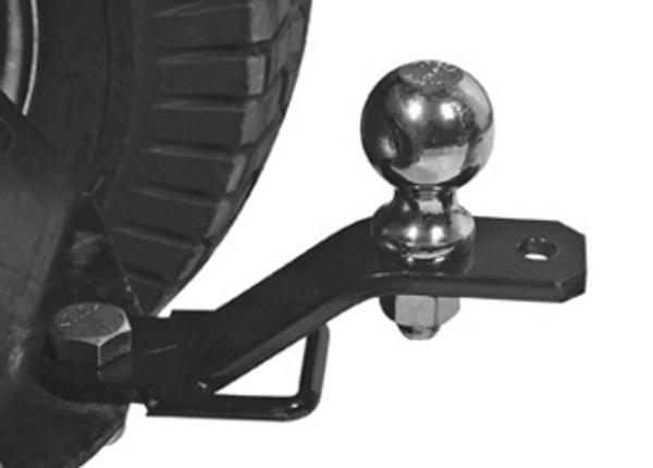 Polaris RZR 3-Way Hitch Adapter by QuadBoss