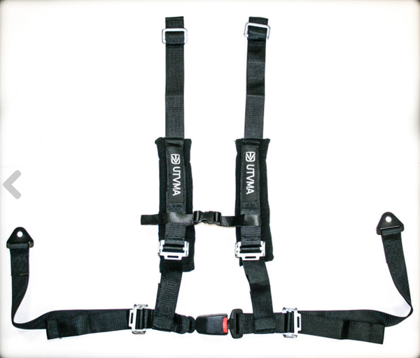 "Polaris RZR 4-Point 2"" Harness with Auto Buckle by UTV Mountain"