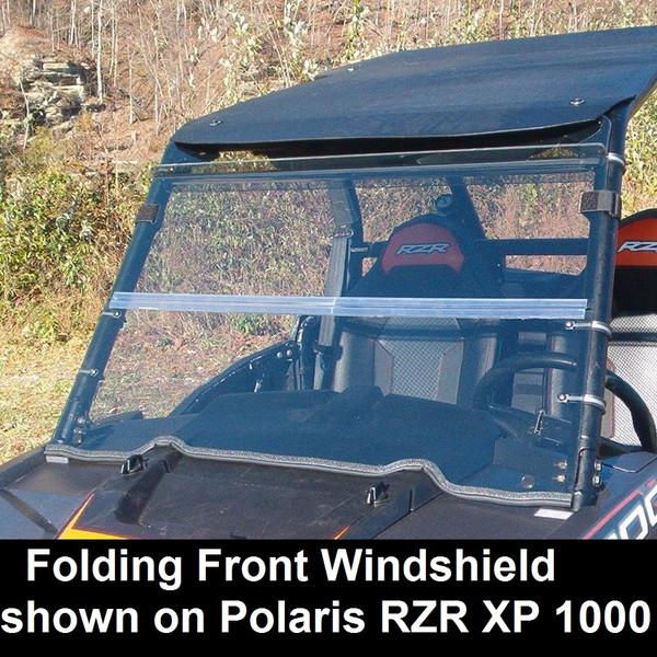 Polaris RZR 570 / 800 / XP 900 Folding Windshield by Dot Weld