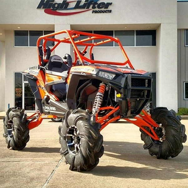 """Polaris RZR 1000 10"""" Big Lift Kit with DHT XL Axles by High Lifter"""