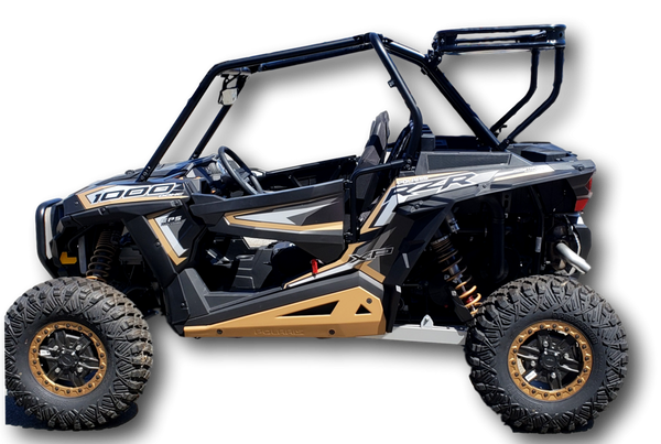 Polaris RZR 1000 Rear Cargo Rack by Hi-Standard Outfitters