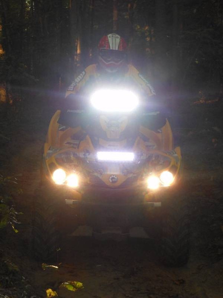"Polaris RZR 50"" Atlantis 3W Combi (48 LED) by Lazer Star Lights"