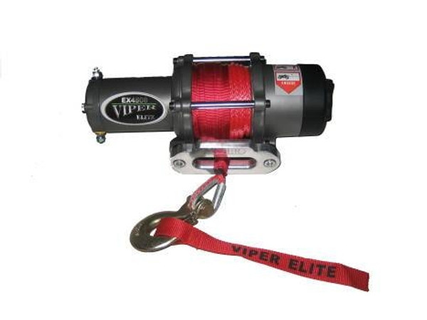 Polaris RZR 4000 lb Viper Elite Winch with Synthetic Rope by EMP