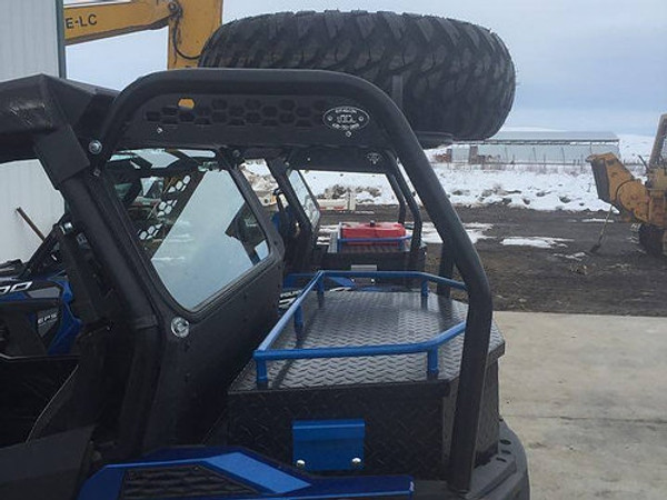 Polaris RZR 570 / 900 Spare Tire Steel Cargo Racks by RyFab