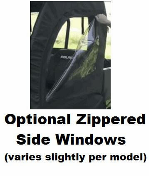 Polaris RZR 570 / 800 / XP 900 Doors, Rear Window and Top Combo by GCL
