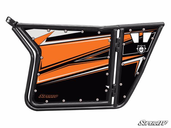 Polaris RZR 570 / 800 / XP 900 Orange Madness Door Graphics